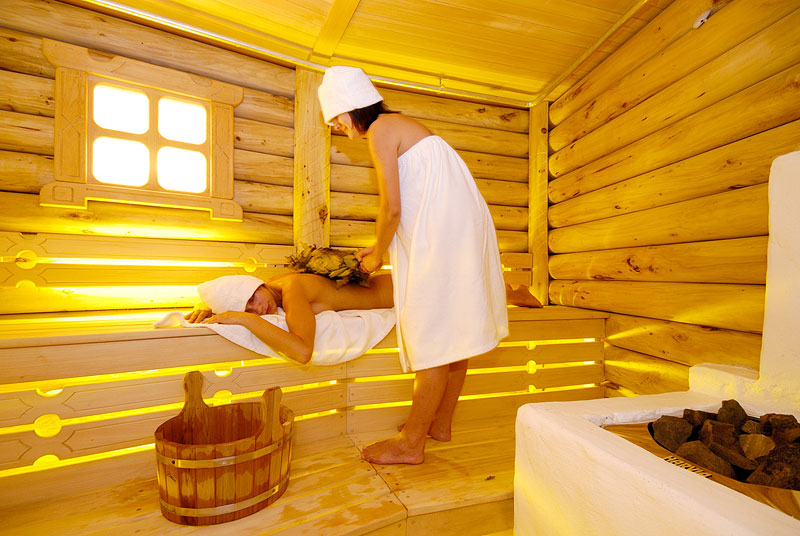 Русская баня, как правильно париться